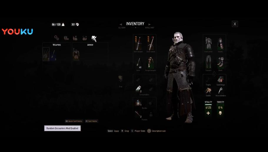 《巫师3增强版》游戏视频
