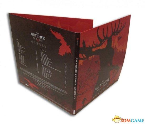 《巫师3》黑胶唱片发行 透明血墨花纹盘面相当酷