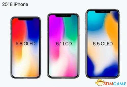 搭配7种配色 iPhoneX廉价版要效仿当年的iPhone5c