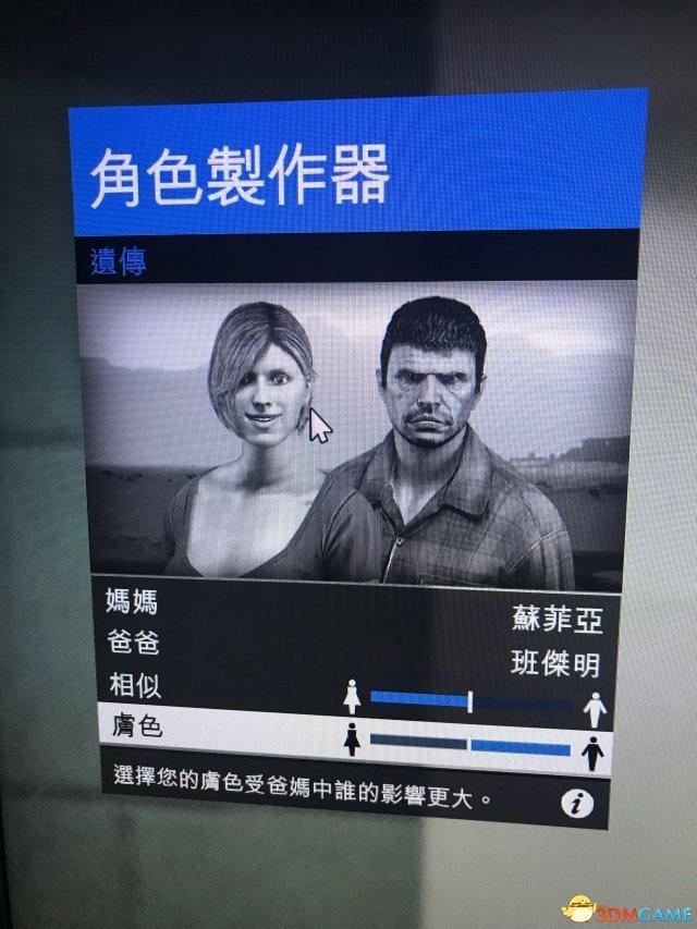 GTA5人物捏脸数据图览