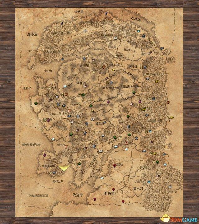 全面战争战锤地图一览 区域和资源分布展示