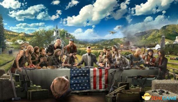 《孤岛惊魂5》为何设在美国?创意总监:因为有趣!