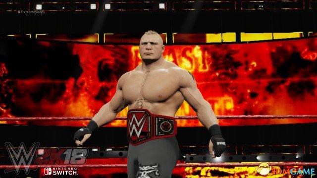 <b>逼真如真人!《WWE 2K18》Switch版曝正式发售日</b>
