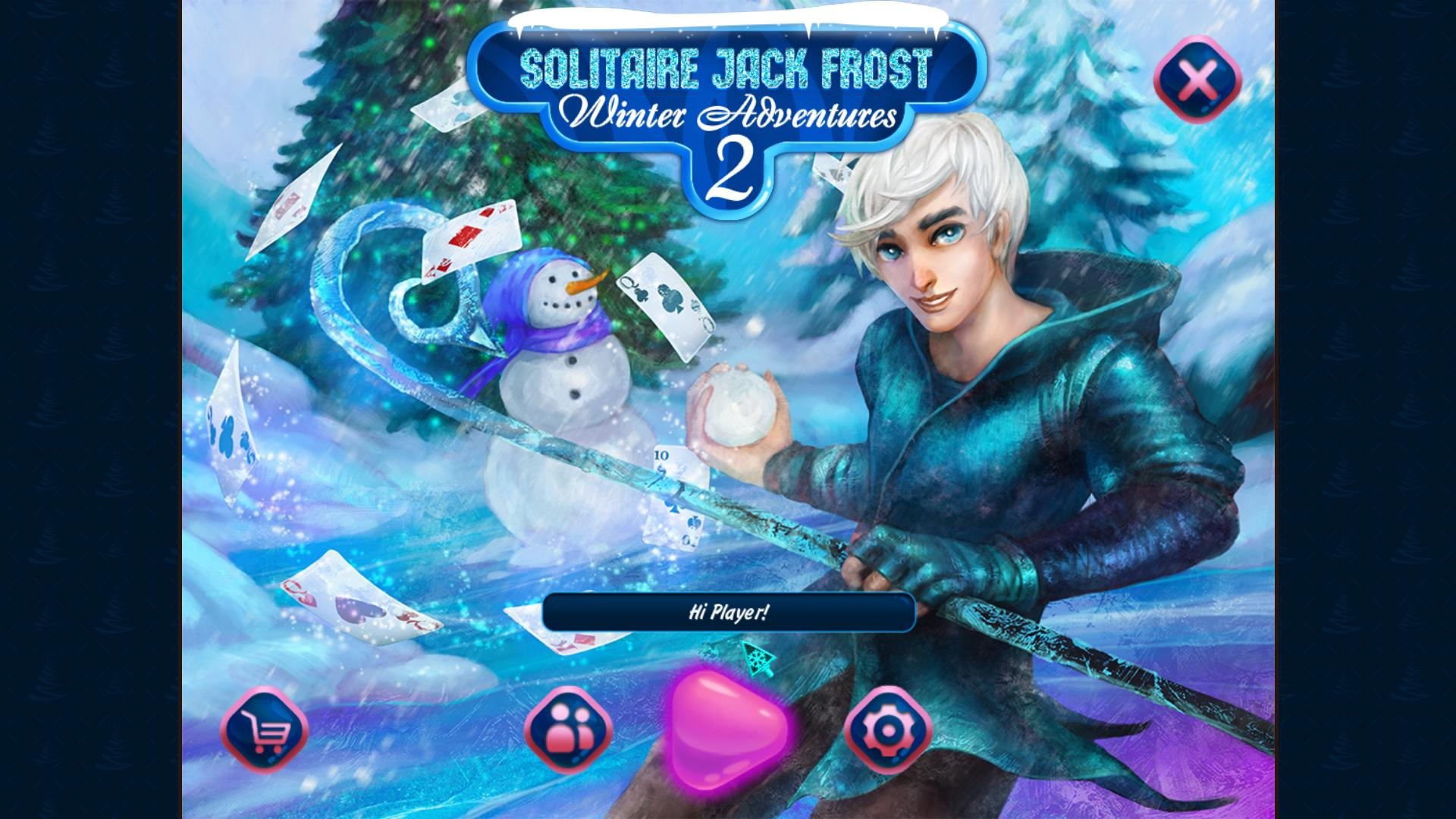 冰冻纸牌接龙:冬季冒险2 游戏截图