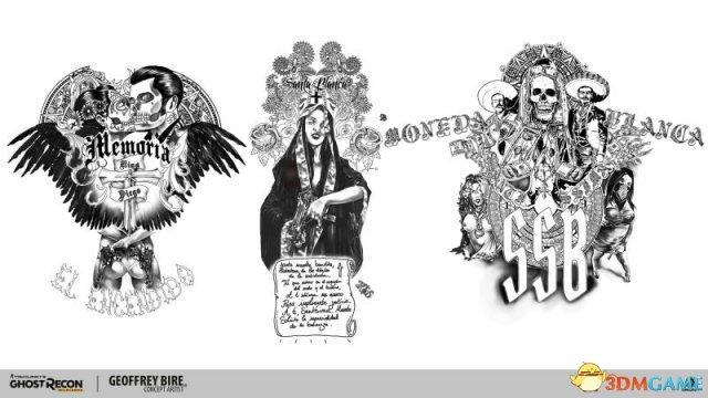 育碧牛人多 《幽灵行动:荒野》设计小哥人设艺术图