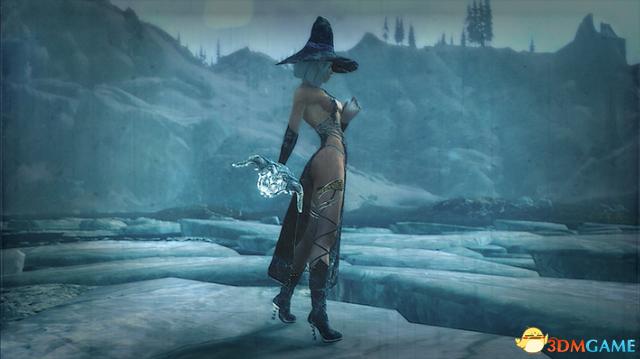 上古卷轴5:天际重制版 卡珊卓冰霜女巫性感套装MOD