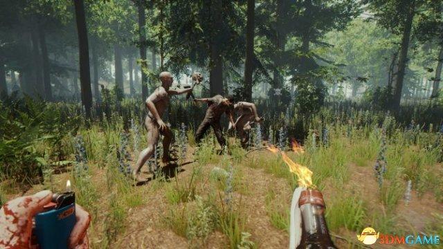 恐怖冒险游戏《森林》PS4版新视频 逃离野人魔爪