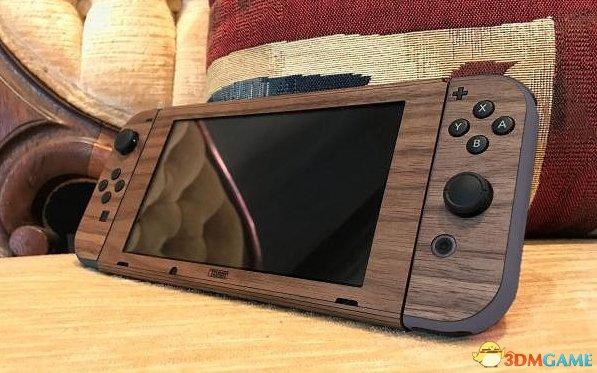 <b>别有一番风味 3色实木制任天堂Switch外壳朴实亮相</b>