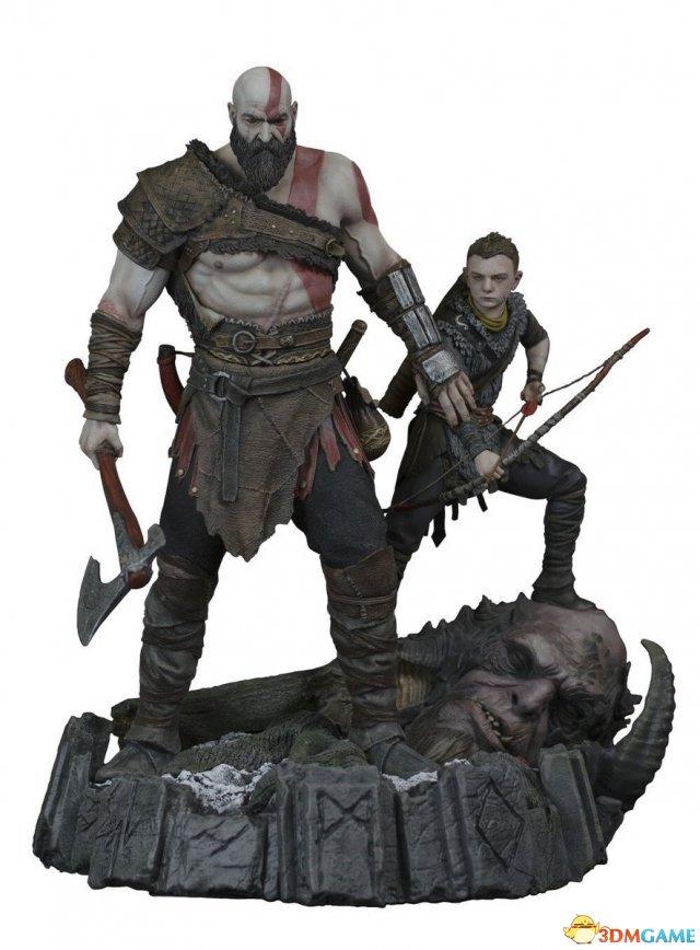 《战神》1:6霸气奎爷父子雕像将开卖 售价2315元