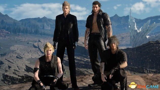 《最终幻想15》补丁竟达18GB 加入角色切换功能游