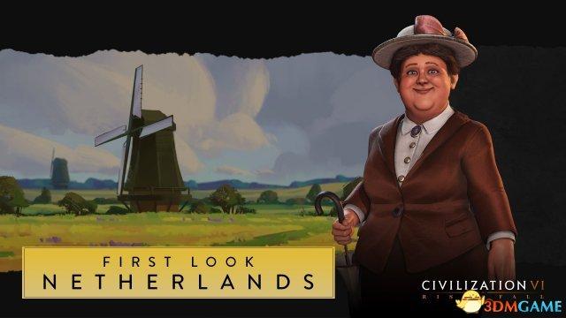 《文明6》新势力荷兰公布 睿智女王威廉明娜登场