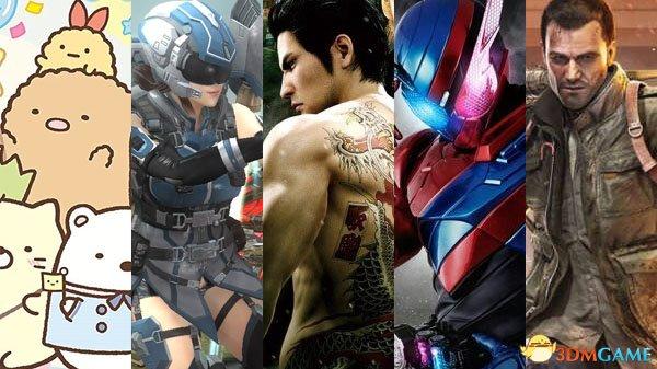 MC日本一周软硬件销量榜单 《如龙:极2》居榜首