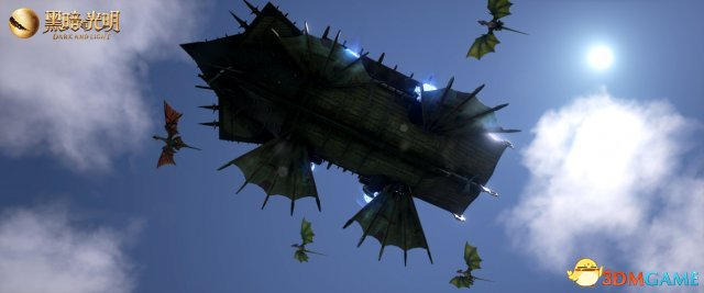 飞行时代终于要来了?黑暗与光明圣诞版本空中堡垒首曝