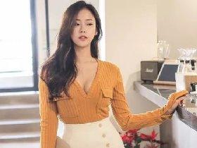 韩国长腿正妹周熙福利美照欣赏 前凸后翘双峰傲人