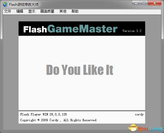 Flash游戏修改大师 v3.2