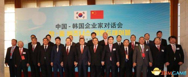 黑色沙漠研发商董事长随韩国总统文在寅抵京访华