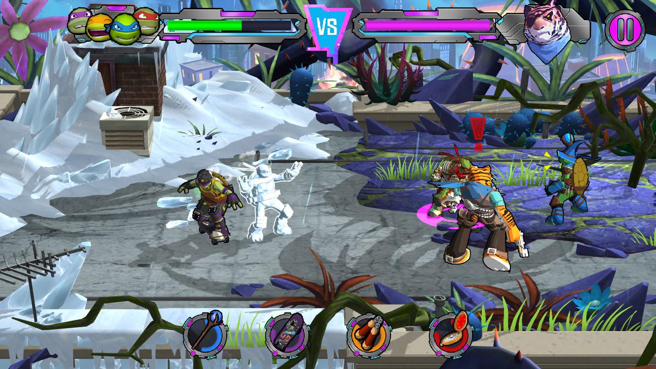 忍者神龟:电门 游戏截图