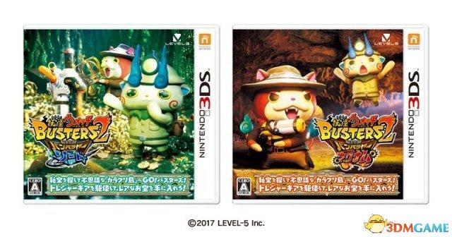 百鬼姫追加登场 3DS新作《妖怪手表破坏者2》发售
