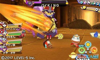 百鬼追加登场 3DS新作 《妖怪手表破坏者2》 发售