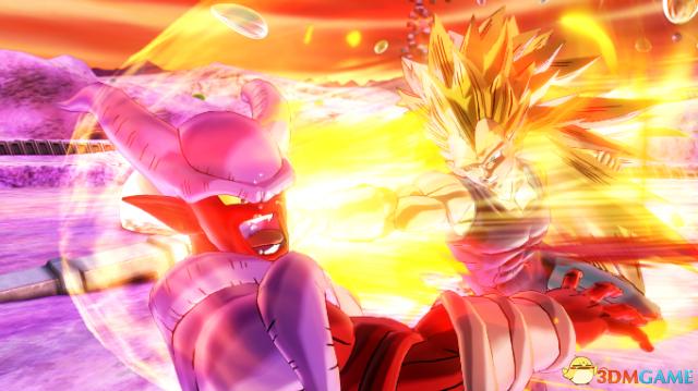 龙珠:超宇宙2 贝吉塔超级赛亚人三怒气爆发2版人物MOD