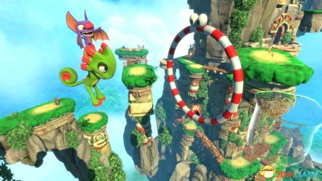 《尤卡萊麗大冒險》Switch主機版上市宣傳片欣賞