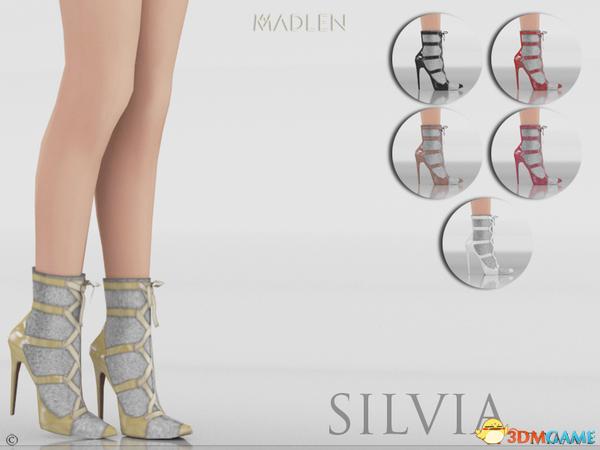 模拟人生4 Silvia蜂女王尖头高跟凉鞋MOD