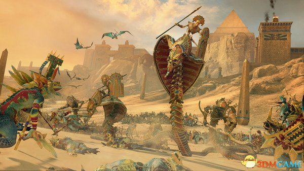 全面战争战锤2dlc古墓王介绍 战役玩法与祭礼一览