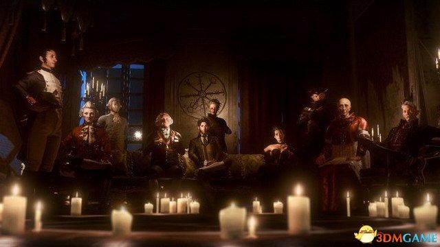 前育碧团队新作《议会》公布 拿破仑华盛顿等齐聚
