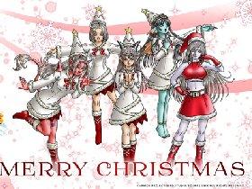 勇者斗恶龙X圣诞壁纸