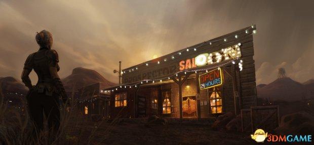《異塵餘生4》「新維加斯」Mod新截圖 动态天氣碉堡了