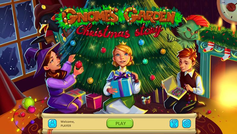 侏儒花园:圣诞节故事 游戏截图