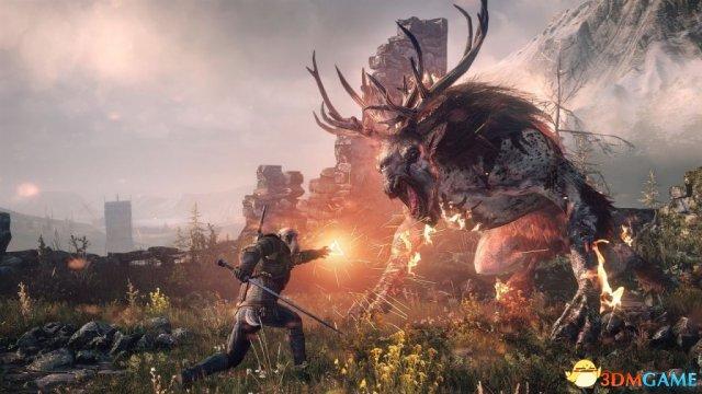 《巫师3:狂猎》升级版画质对比 XB1X版更胜一筹