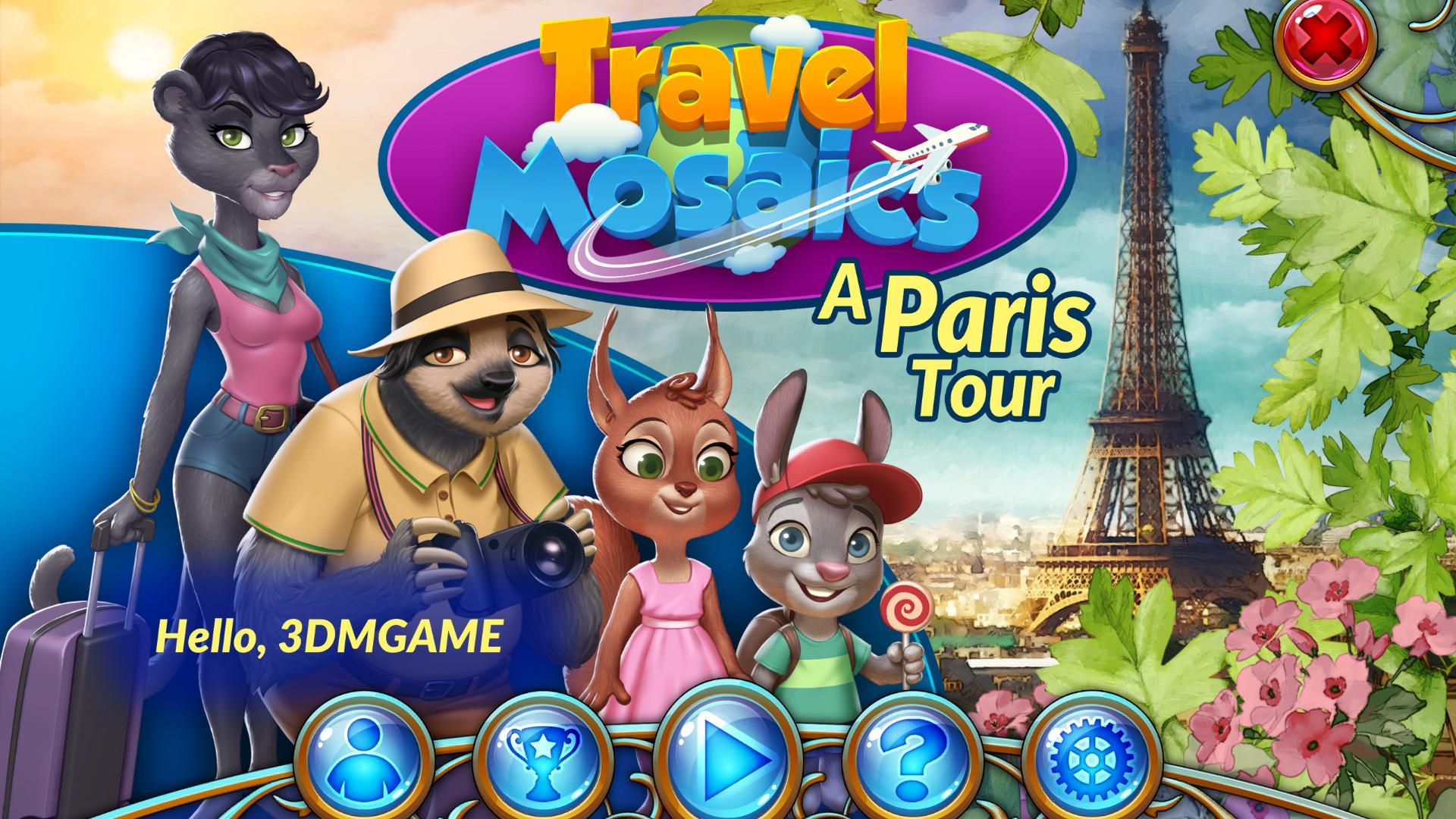 旅行马赛克:巴黎之旅 游戏截图