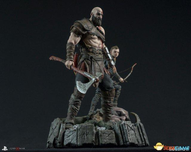 聖莫妮卡工作室分享《戰神4》手辦照片 細節驚人
