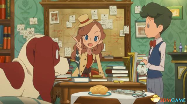 《雷顿教授》 衍生动画2018年播出 雷顿之女主演