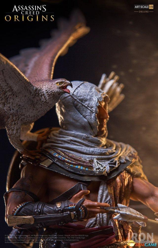 超酷玩鹰男!《刺客信条:起源》主角写实手办登场