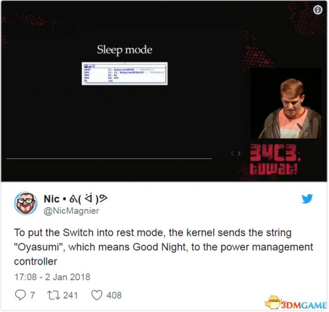 任天堂Switch系统小彩蛋 每次开关机都有问候语