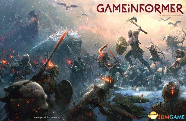 奎爷霸气 《战神4》登上GameInformer杂志封面
