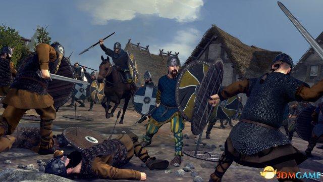 征服不列颠 《全面战争传奇:不列颠王座》新情报