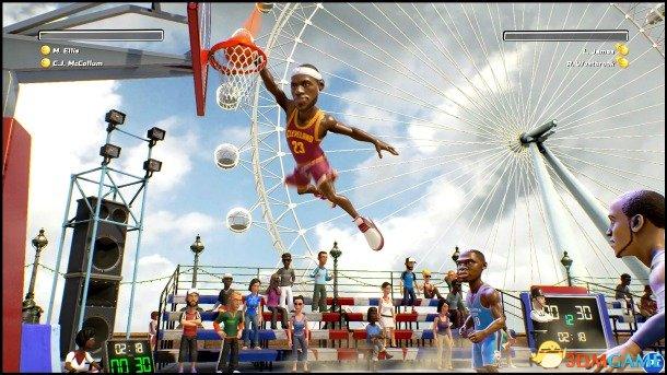原版问题外多!《NBA游乐场》推出Switch加强版