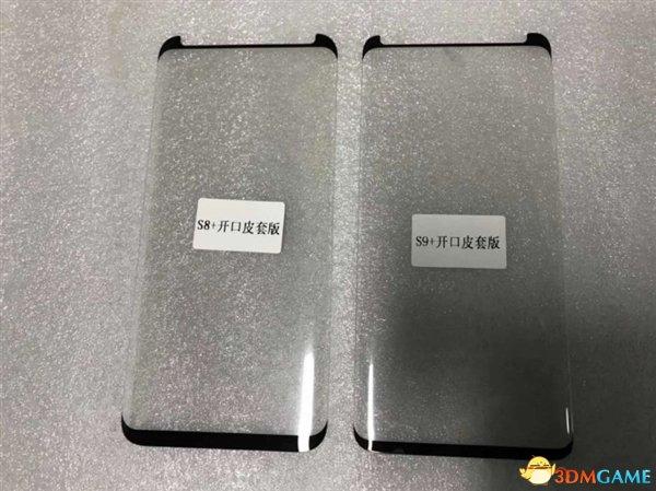 三星新旗艦S9+貼膜曝光 可以腦補三星S9+的屏占比