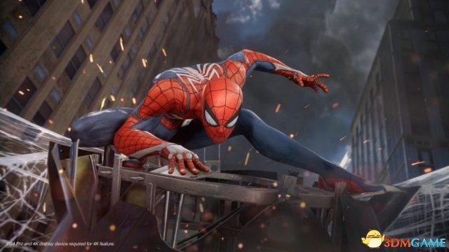 《蜘蛛侠》设计总监通关三周目 通一次要花好几天