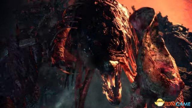 宛如丧尸龙! 《怪物猎人:世界》 瘴气谷王者骨锤龙
