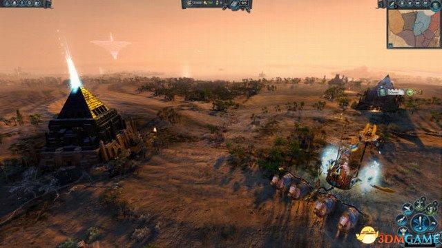 恐怖大軍 《全軍破敵:戰錘2》古墓王DLC新演示