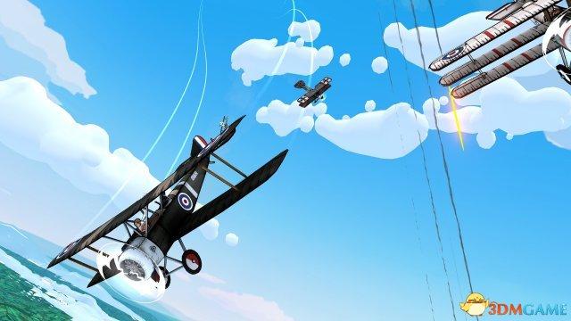 一战佳品Switch《天空之怒DX》支持分屏多人对战