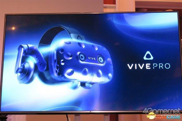 游戏新消息:有逼格加PROCes展Htc公布升级版VR眼镜VivePro