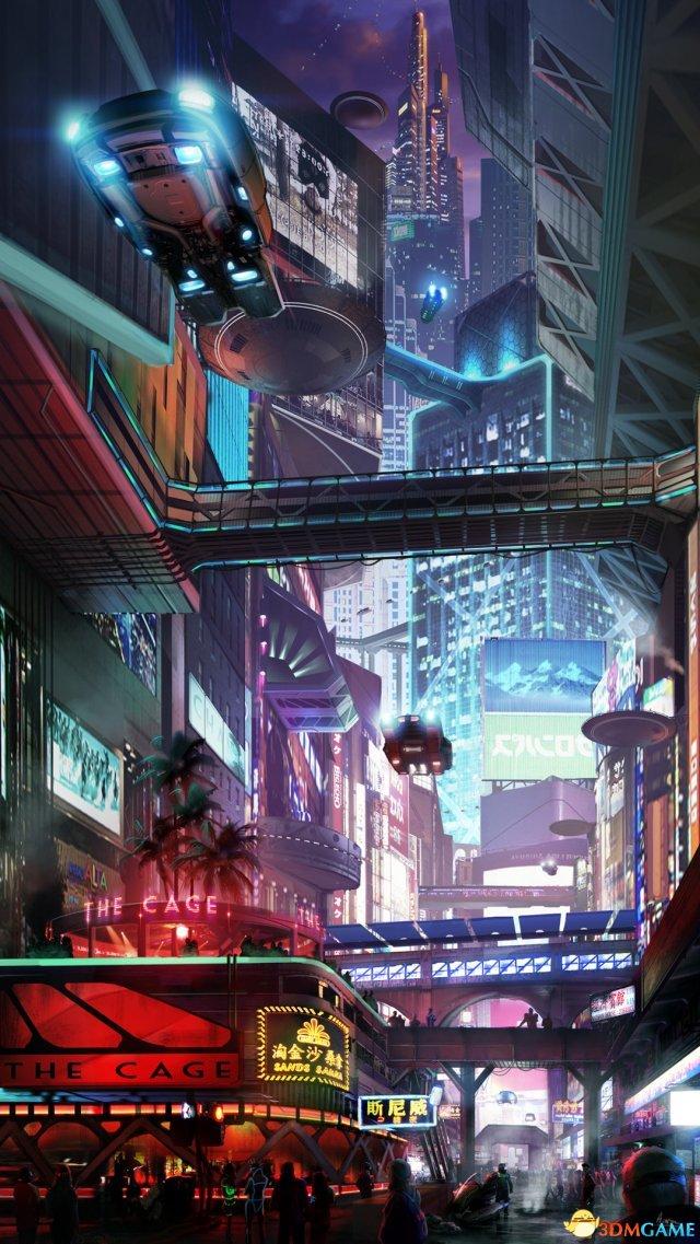 一美元_星际公民文明6美工概念画 科幻飞船及场景酷炫_3DM单机