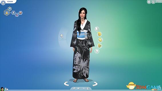 模拟人生4 清丽可爱的日系小姐姐KONAMI小波人物MOD
