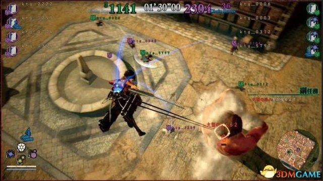 《進擊的巨人2》新增殲滅模式 人類狩獵巨人為樂