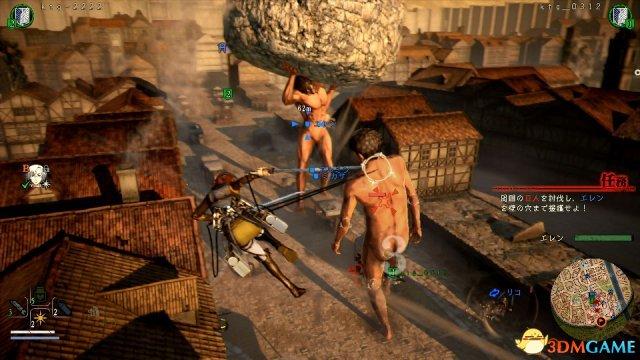 《進擊的巨人2》確認四位可玩角色 多人模式揭曉